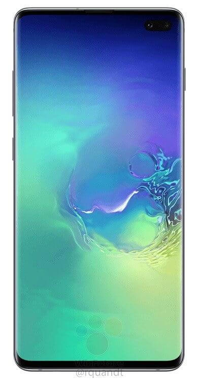 Samsung Galaxy S10+ -etuosa
