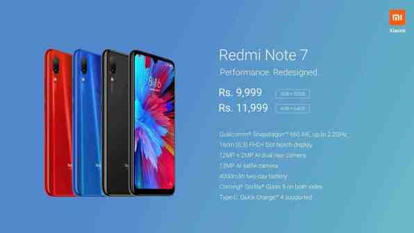 Redmi Note 7 tekniset tiedot / Kuva: Xiaomi