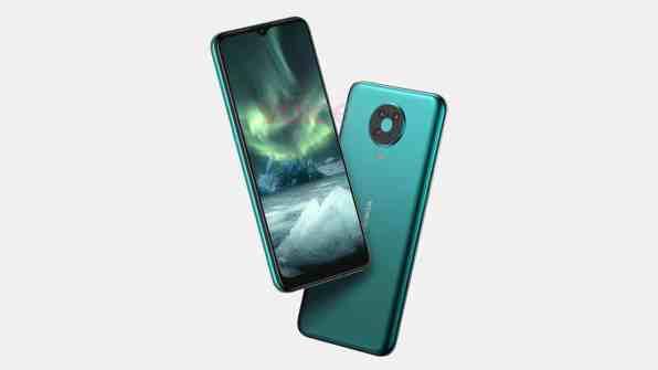 Väitetty kuva Nokia 6.4 -puhelimesta.