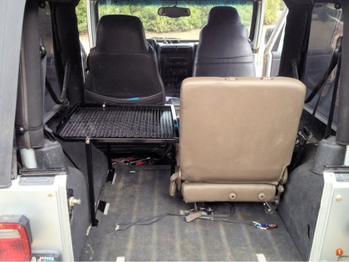 small resolution of willy jeep rear seat