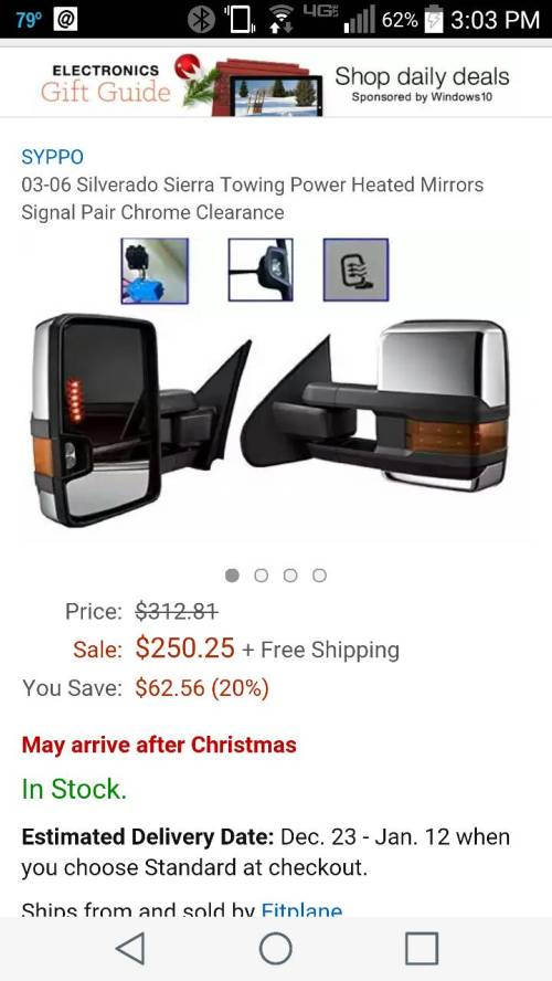 small resolution of i ve been viewing a few threads regarding this topic and found some aftermarket tow mirrors to mount on my 07 classic gmc these are what i bought