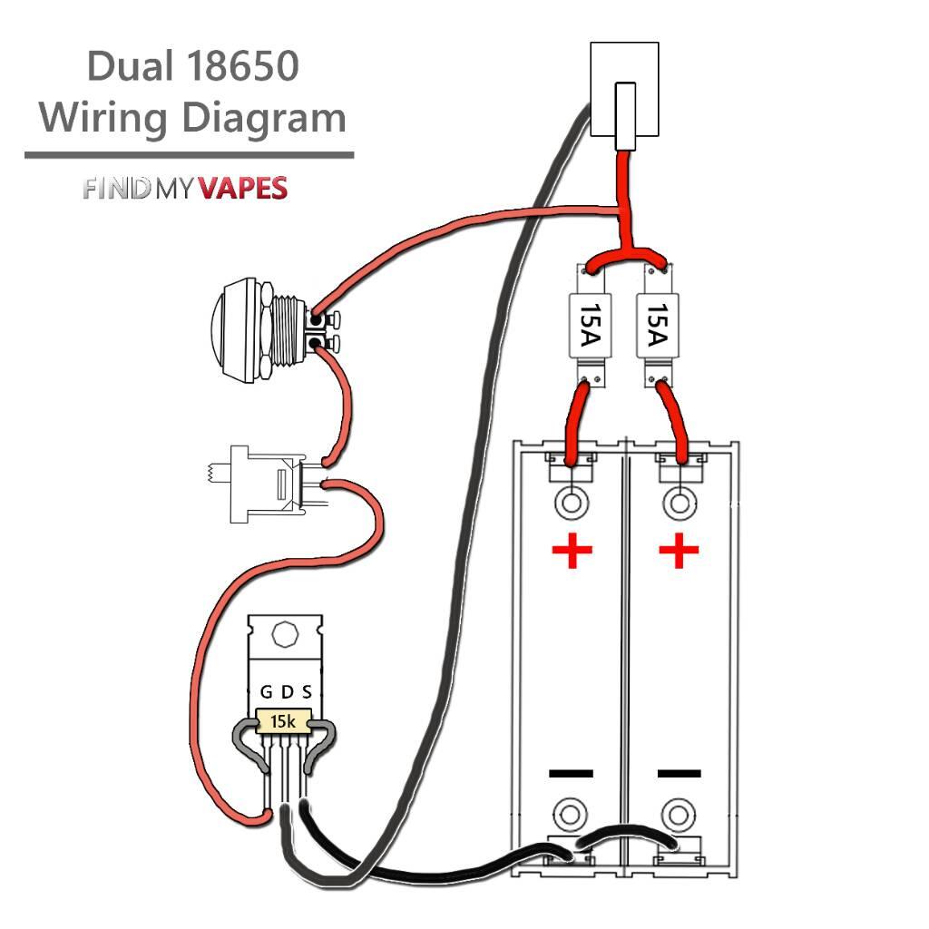 box mod mosfet wiring diagram