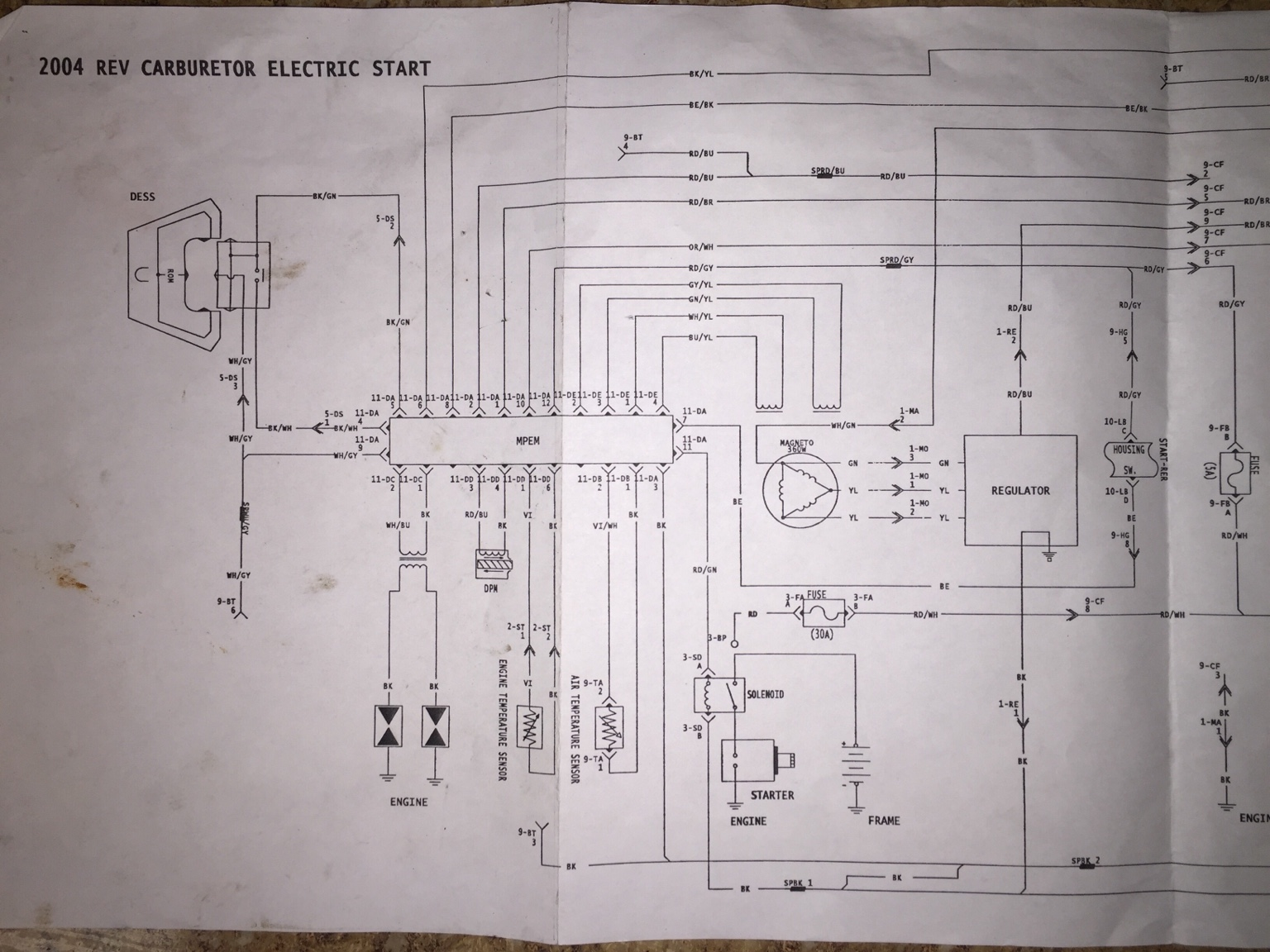ski doo wiring diagram 3 pole contactor hcs snowmobile forums 2004 rev 800ho needed