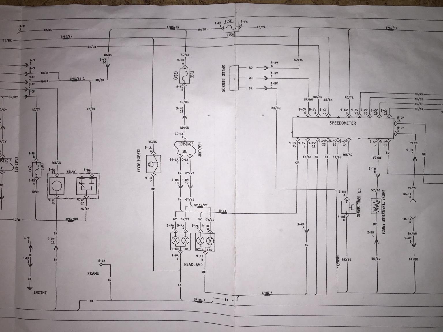 ski doo wiring diagram 1992 dodge dakota fuel pump hcs snowmobile forums 2004 rev 800ho needed