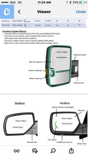 Signal mirror upgrade !! Need help  20142018 Silverado & Sierra Mods  GMTrucks
