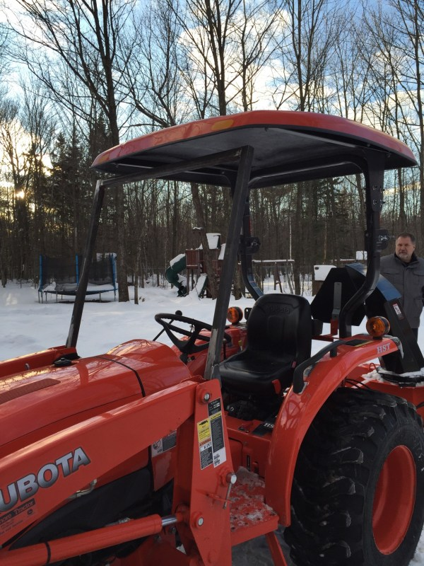 L3901 Kubota Tractor With Cab - Year of Clean Water