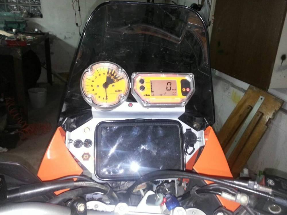medium resolution of  ktm 990 adventure s home made dashboard img