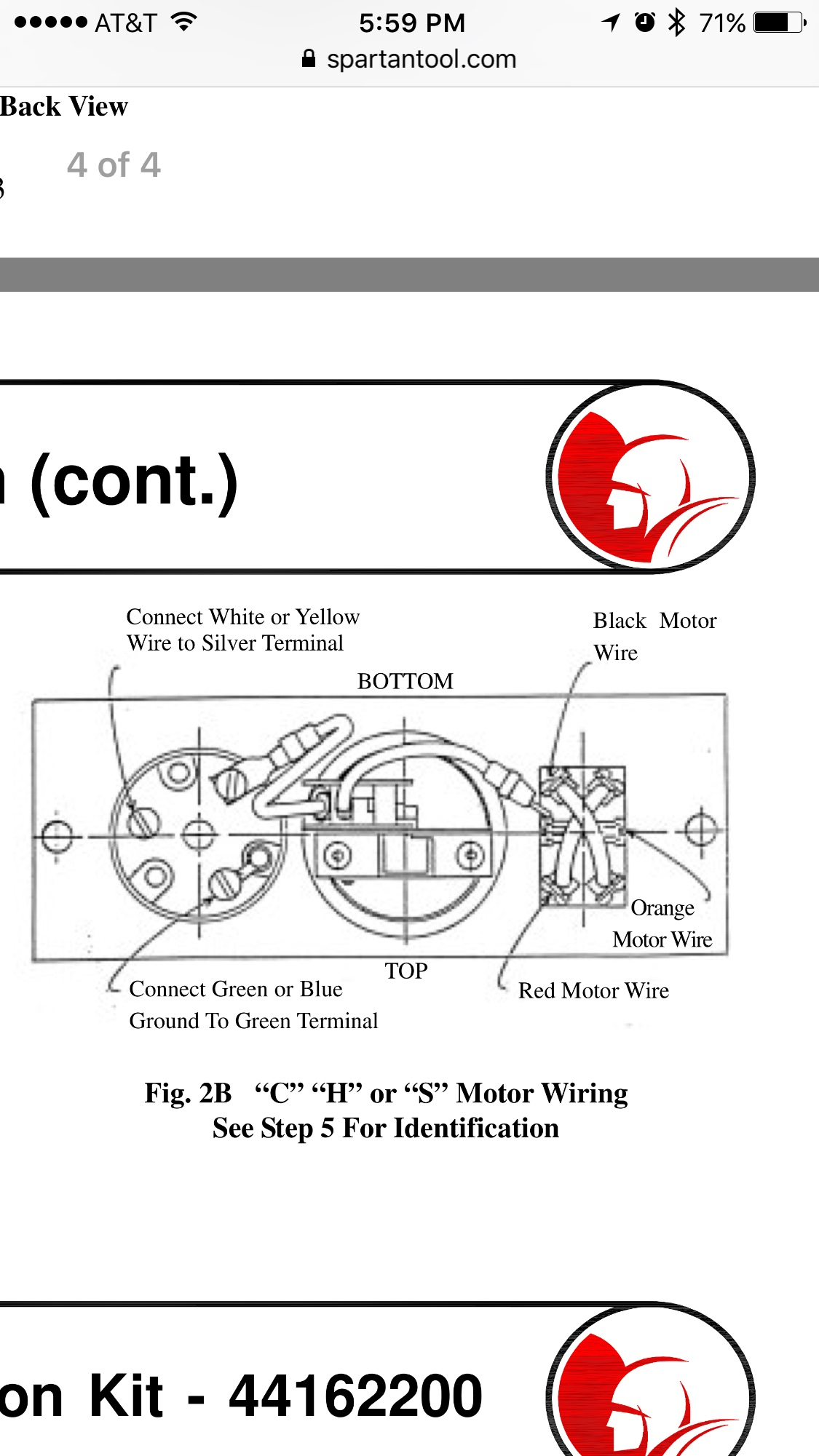 Spartan Wiring Diagram