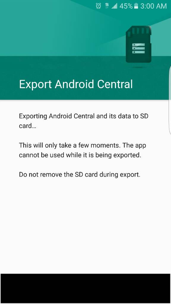 How To Move Pictures To Sd Card On Galaxy S7 Edge : pictures, galaxy, Samsung, Galaxy, Issue, Moving, Android, Forums, AndroidCentral.com