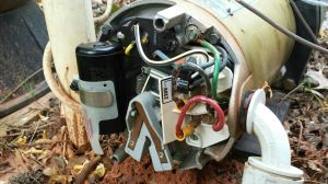 Brief humming from pump motor