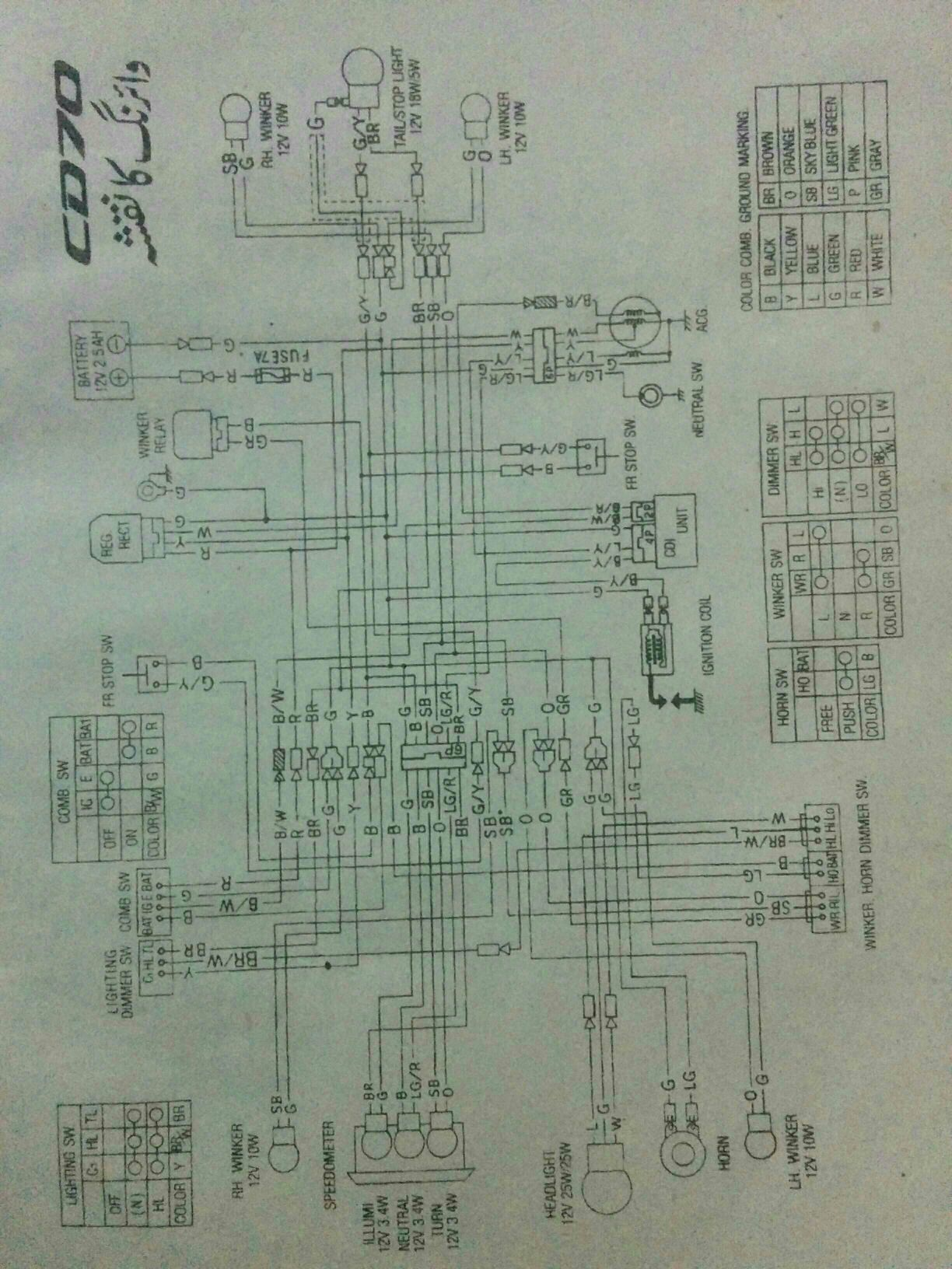 hight resolution of honda cdi 70 wiring diagram wiring diagram honda cd 70 wiring diagram pdf honda cdi 70 wiring diagram