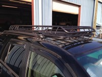 Roof rack with stock rails - Toyota 4Runner Forum ...