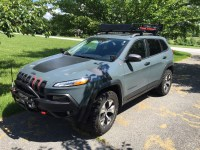 Roof Rack and Tool Mounts - 2014+ Jeep Cherokee Forums