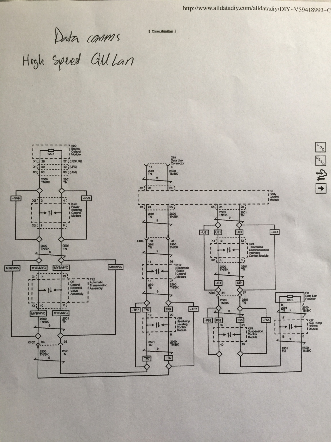 hight resolution of 1970 chevelle ss wiring diagram anyone have 2015 ss manual with harness information