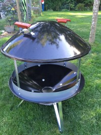 scored a new unused weber fire pit
