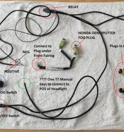 need help with installation of tt fogs honda oem fog switch honda motorcycle wiring diagrams attached [ 1838 x 1197 Pixel ]