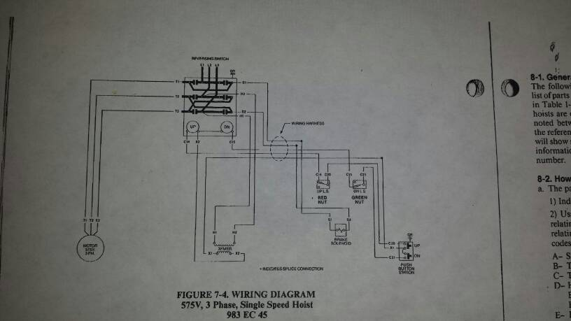 Electric Hoist Control Wiring Diagram