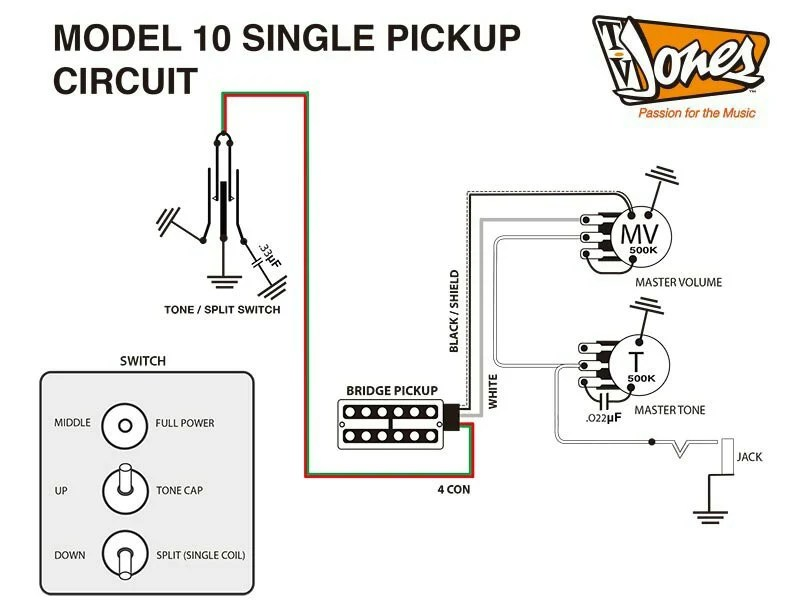 Newby: wiring up a TV jones (model 10 style) with a 3way