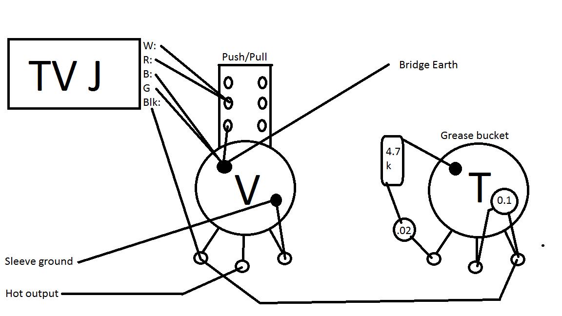 series parallel push pull pot wiring