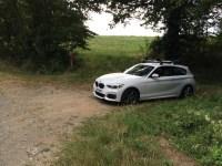 F21 M135i with BMW roof bars & bike racks - babybmw.net