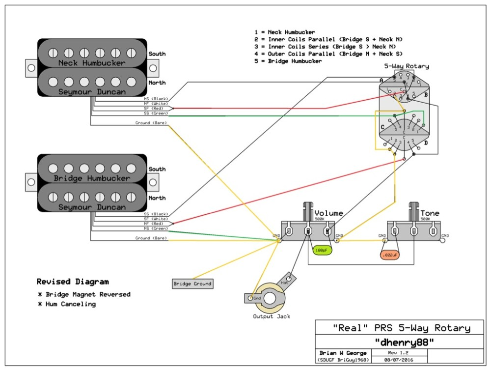 medium resolution of 5 way rotary help rh seymourduncan com gibson flying v wiring diagram wiring diagrams for dummies