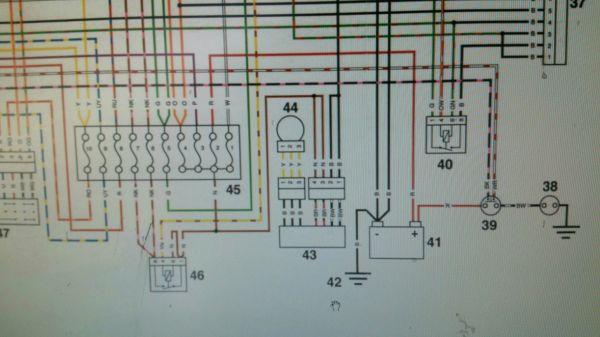 2001 triumph tt600 wiring diagram - forum