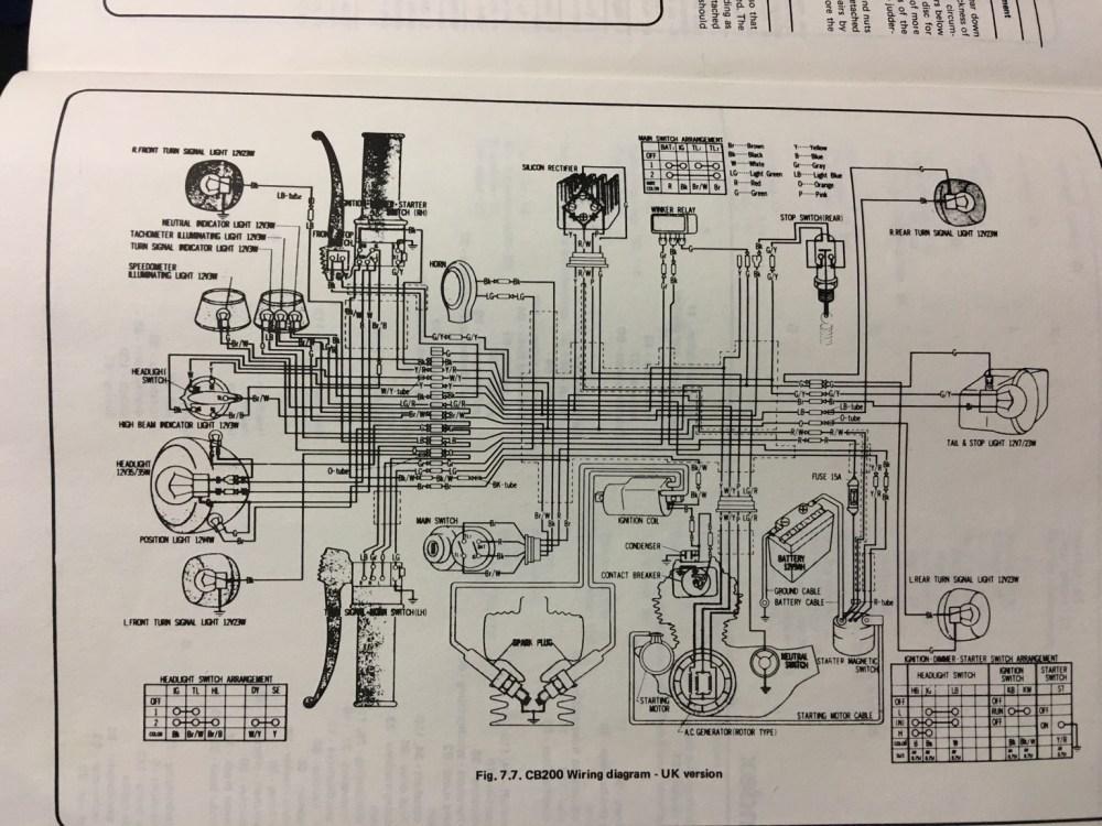 medium resolution of honda 200 wiring diagram wiring diagram img cb 200 wire diagram