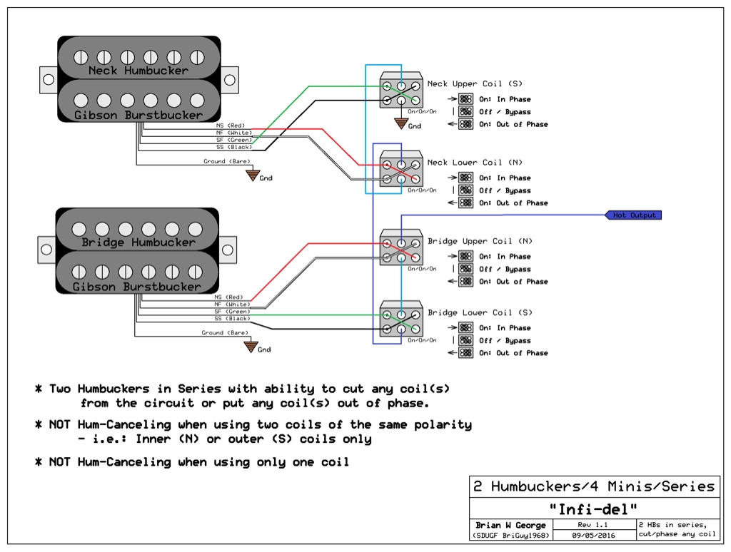 burstbucker pro wiring diagram