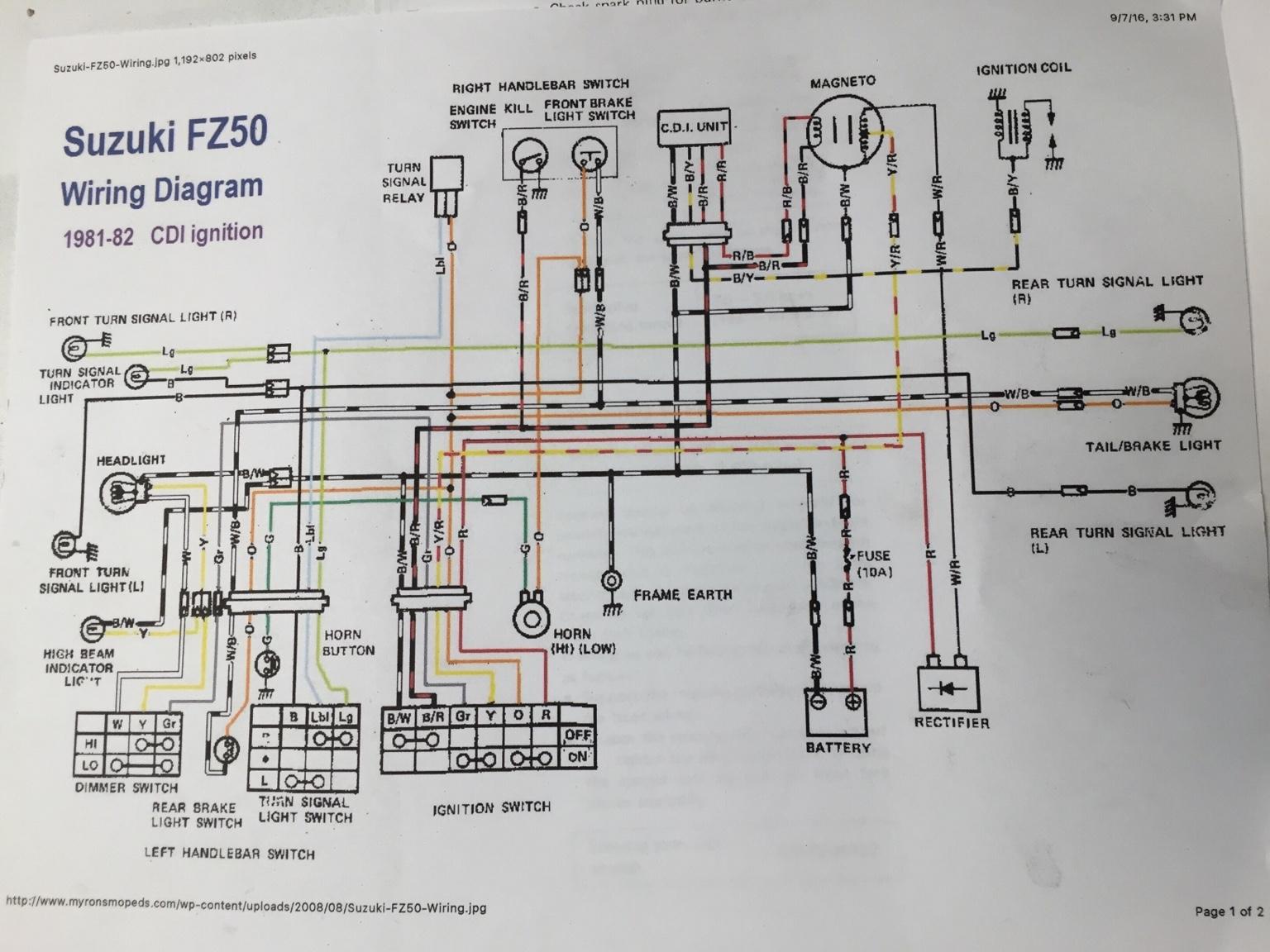 hight resolution of suzuki fz50 wiring diagram data diagram schematic 1980 suzuki fa50 wiring diagram