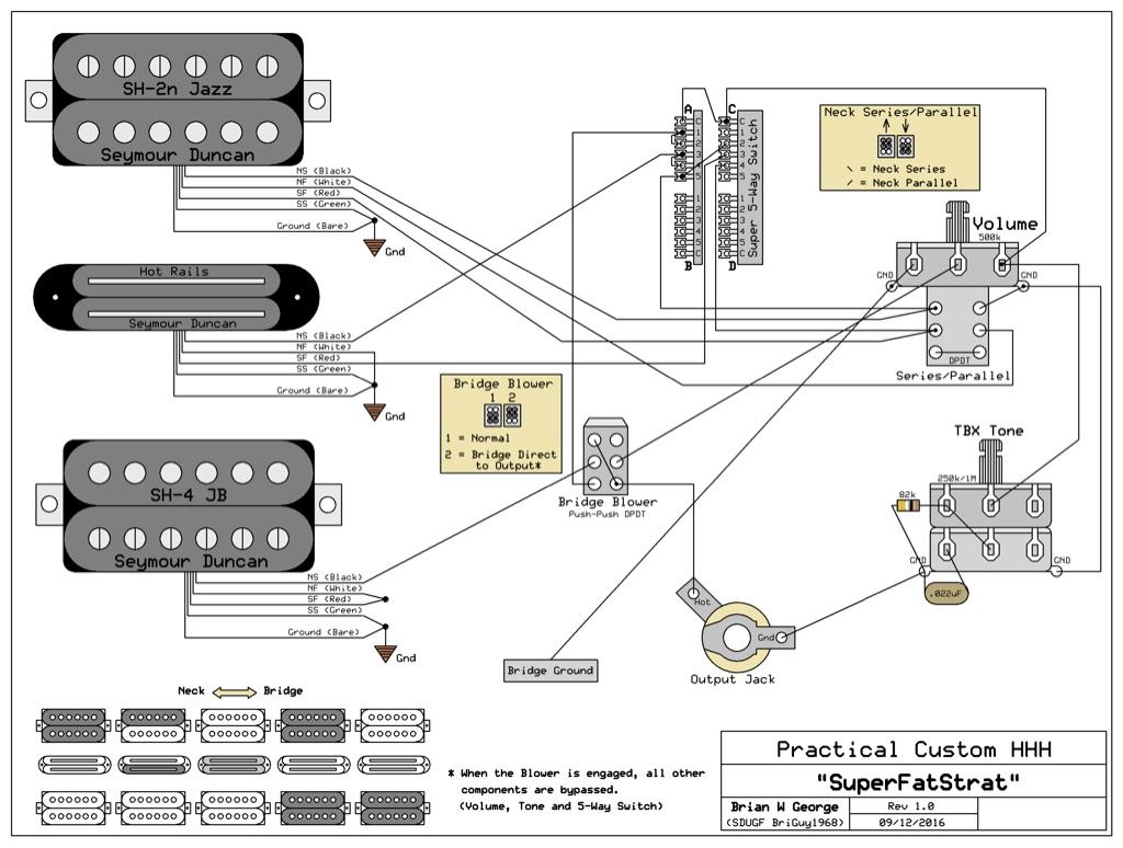 i need some help with triple humbucker guitar wiring