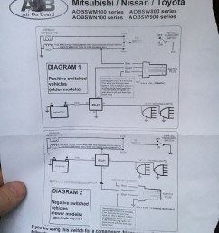 how do i wire my rigid light bar to this aob switch says i need a diode any help appreciated  [ 1152 x 1536 Pixel ]