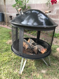 Weber fire pit