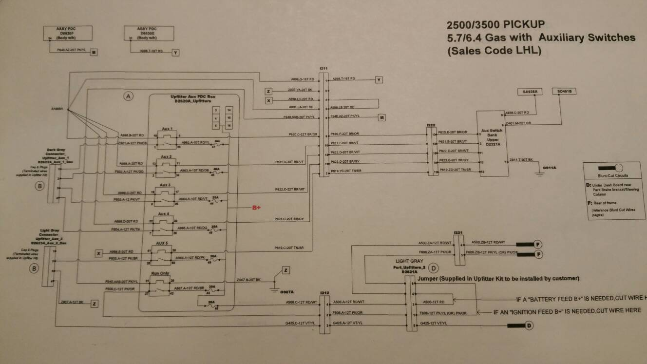 2014 Ram 7 Pin Wire Diagram