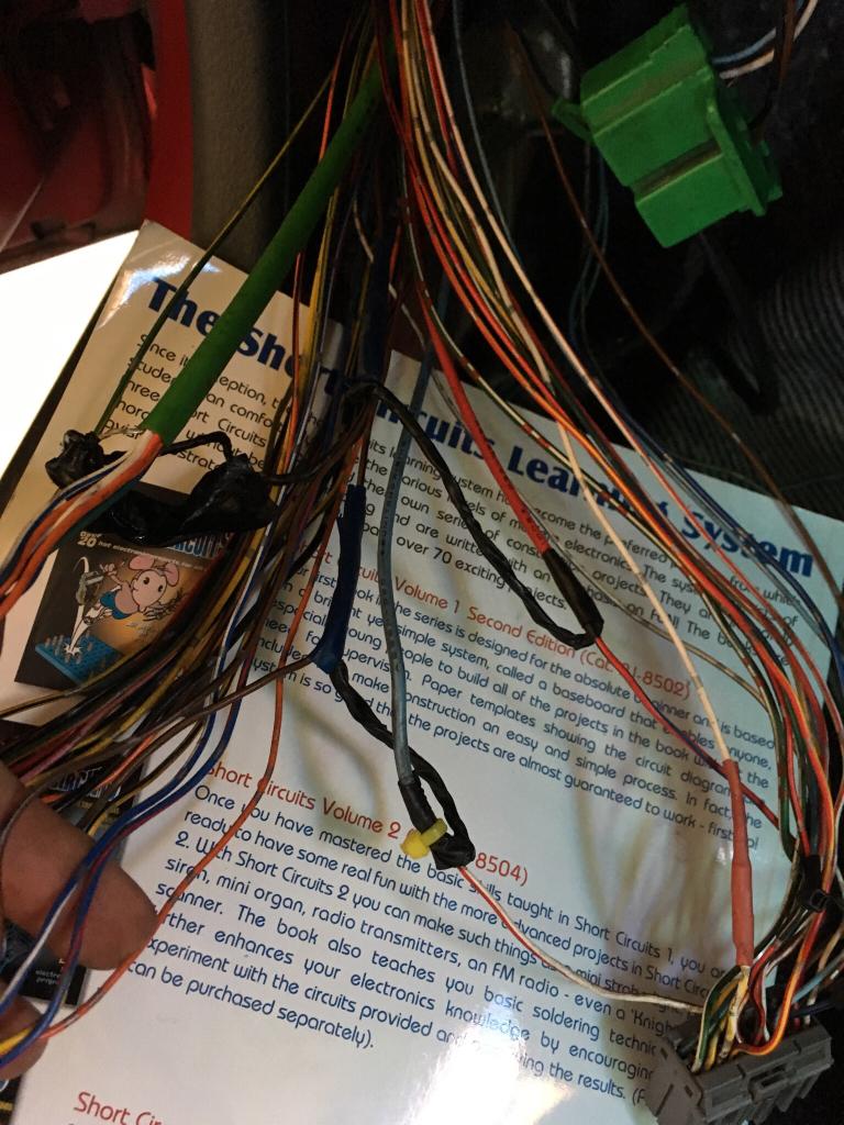 hight resolution of bad wiring