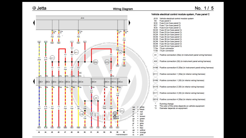 vw polo wiring diagrams ion thruster diagram terminal 30 for interior lighting, no or tail lights. - tdiclub forums