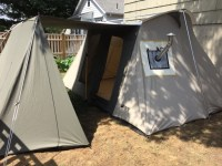 Wall Tent Heaters & Portable Titanium Wood Burning Tent ...