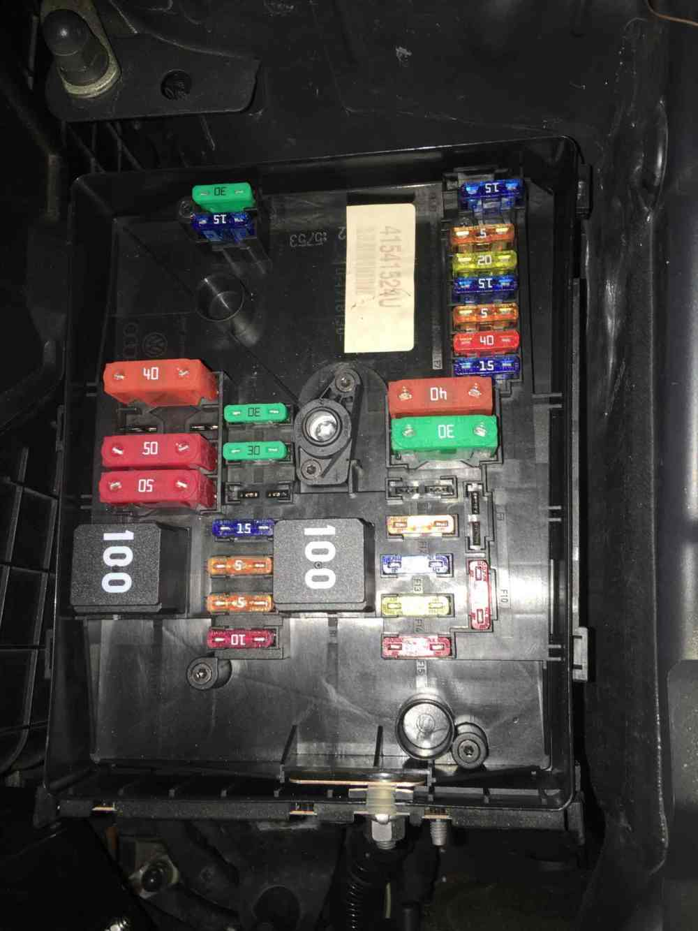 medium resolution of mk6 golf fuse box wiring diagram article review golf mk6 engine fuse box diagram