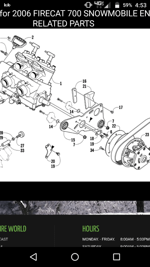 06 F7 is there a some sort of crank cover thas sits flush