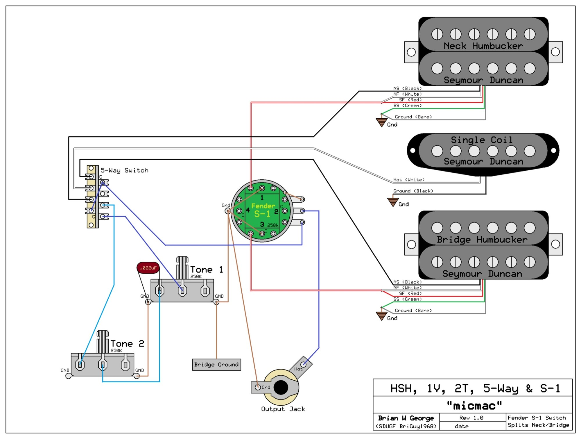 hight resolution of hsh wiring diagram 5 way switch wiring diagram article 5 way super switch wiring hsh