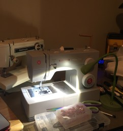 update just got the machine today and man am i impressed for 130 it sews like a dream when i first got the kenmore you see in the background i fought  [ 1536 x 2048 Pixel ]