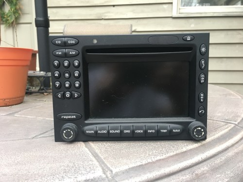 small resolution of pulled out of 2004 anniversary 996 for a modern head unit works great 400 shipping