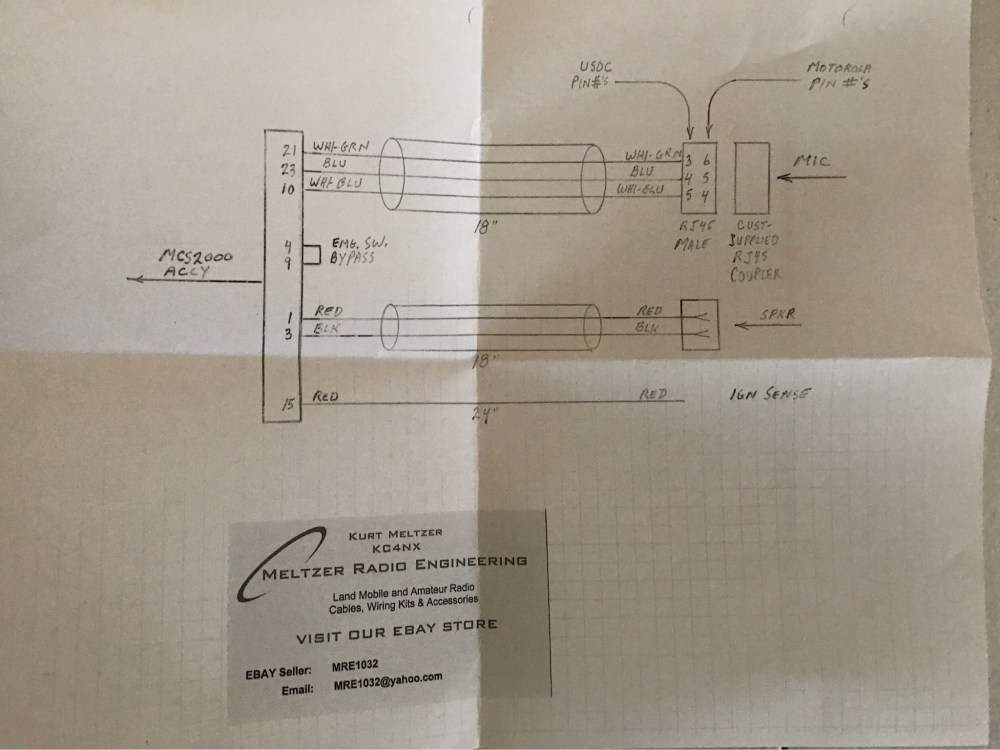 medium resolution of following kurt s diagram you can connect your palm mic to your mcs2000 accessory connector