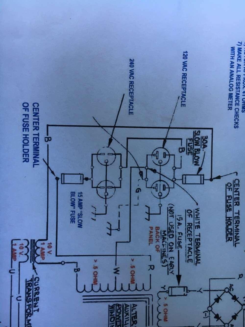 medium resolution of auxiliary electrical outlets page 2 lincoln sa 250 welder wiring diagram