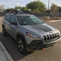 Roof Rack Jeep Cherokee Trailhawk