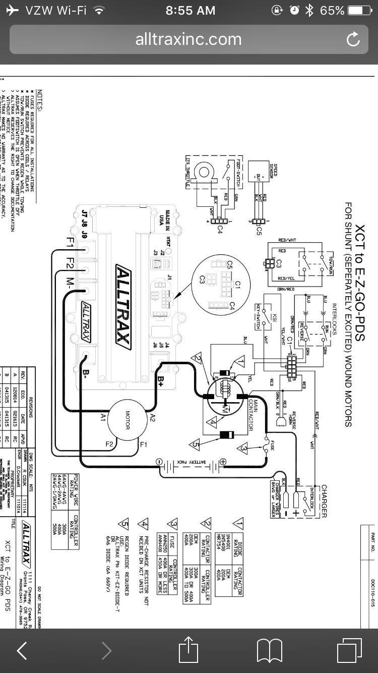 hight resolution of alltrax xct pds install question rh buggiesgonewild com club car wiring diagram alltrax controller wiring diagram