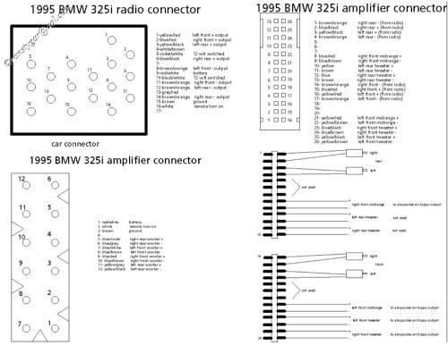 small resolution of 1999 bmw 540i radio wiring