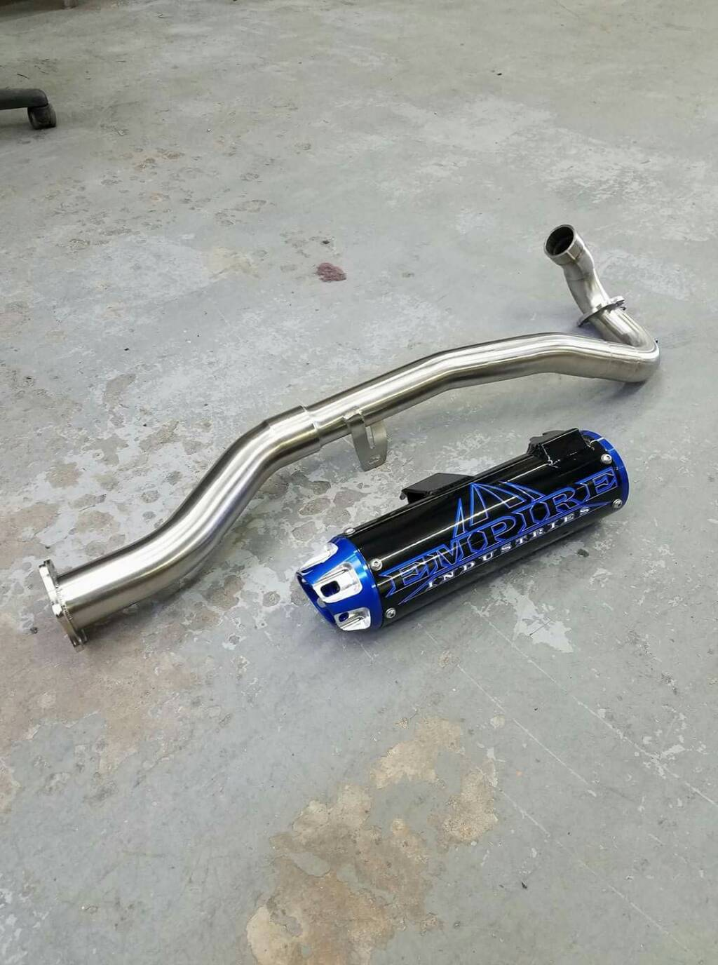 empire exhaust for sportsman 570