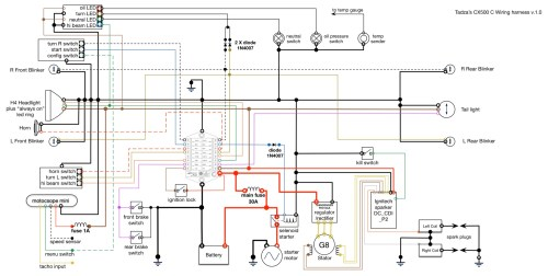 small resolution of m unit wiring diagram for cdi 1980 cx500 can be used with original cdi as