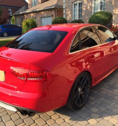 2010 audi s4 6 speeds manual in brilliant red with nav and sport [ 1024 x 768 Pixel ]