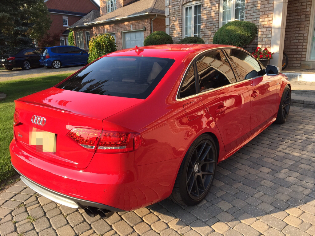 hight resolution of 2010 audi s4 6 speeds manual in brilliant red with nav and sport